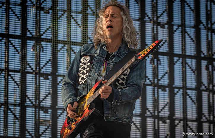 Metallica's Kirk Hammett reflects on band's 40th anniversary