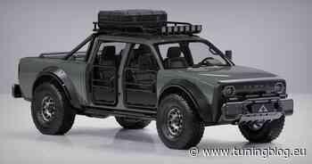 Elektro-Pickup im Retro-Design - Alpha Motors SuperWolf! - tuningblog.eu