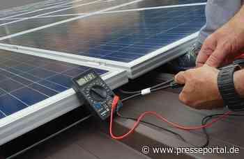 Photovoltaik Bardowick Witorf, Mechtersen, Handorf - Elektro Burmester setzt die Wünsche des Kunden immer in den Mittelpunkt - Presseportal.de