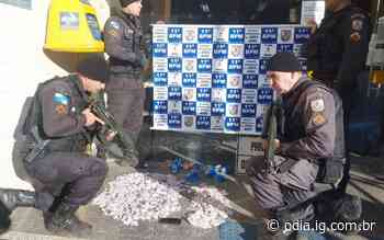 Gerente do tráfico do Terra Nova em Nova Friburgo é preso com quase um quilo de cocaína - O Dia