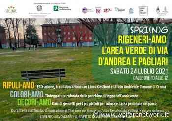 Crema SPRING - ecoazioni in via D'Andrea e Via Pagliari - WelfareNetwork