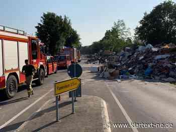 Feuerwehr Dormagen leistet Hochwasserhilfe in anderen Kreisen   Rhein-Kreis Nachrichten - Klartext-NE.de