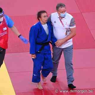 Pijnlijke exit voor Van Snick: judoka grijpt naast kamp om brons en wordt in rolstoel afgevoerd na stevige smak