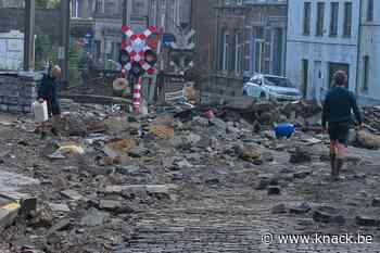 In beeld: Dinant meet schade op na nieuwe overstromingen