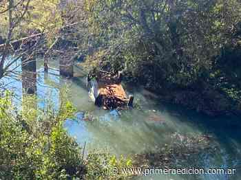 Valentina y Lázaro fueron hallados sin vida en el arroyo Caraguatay - Primera Edicion