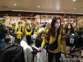 En weg zijn ze: olympiërs verzamelen in Zaventem voor vertrek naar Tokio - Het Belang van Limburg