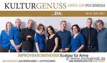 ...efa: Improtheater beim Kulturgenuss Open-air Puchheim - Puchheim - myheimat.de