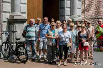 Ferm Genoelselderen fietst naar het Paterke in Hasselt - Het Belang van Limburg