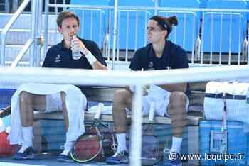La paire Herbert-Mahut éliminée dès le premier tour du double des JO de Tokyo - L'Équipe.fr