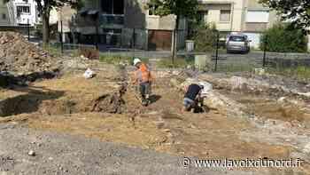 Maubeuge: les fouilles de la Clouterie ont commencé - La Voix du Nord