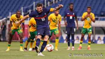 Gignac hat trick, assist in France comeback win
