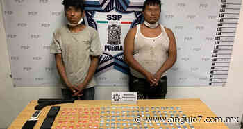 Estatales detienen a presuntos narcomenudistas en Tres Cerritos - Ángulo 7