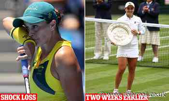 Tokyo Olympics: Australian tennis star Ash Barty reveals why she crashed out of the Olympics