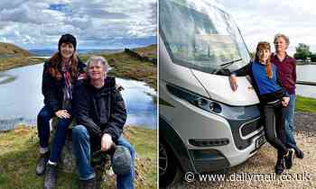 Britain really is your oyster in a motorhome, say Paul Merton and his wife in a new TV show - Daily Mail