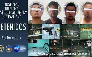 [VIDEO] Liberan a víctima de secuestro y detienen a cuatro en Tarimoro - El Sol de Salamanca