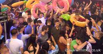 Thousands of revellers pack out clubs on first boozy Saturday since Freedom Day