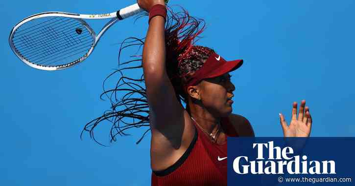 Naomi Osaka eases into second round in return to tennis at Tokyo Olympics