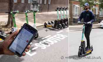 E-scooter hire firms use apps to determine if a rider has been drinking