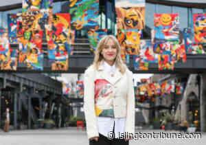 Flag days: artist shares homeless stories with public display - Islington Tribune newspaper website