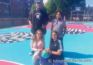 Hoop & glory! Court is spruced up for basketball - Islington Tribune newspaper website