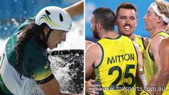 Kookaburras belt world No.4 in dream start; Rio bronze winner quits Games: Day two wrap