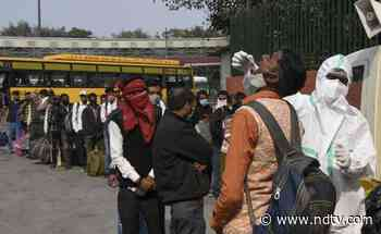 Delhi Reports 66 Fresh COVID-19 Cases, 2 Deaths; Positivity Rate At 0.09% - NDTV