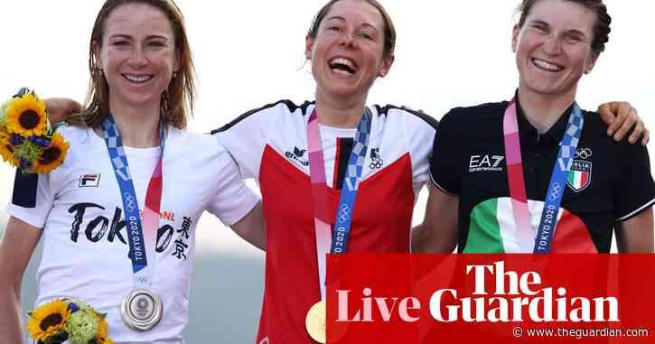 Olympics 2020: Anna Kiesenhofer takes road race glory on day of upsets – live!