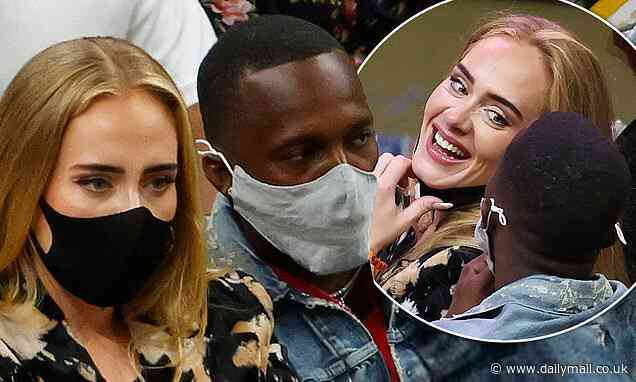 Adele CONFIRMS new romance with Rich Paul as they are spotted packing on the PDA on flirty date - Daily Mail