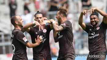 St. Pauli besiegt Kiel - Preußers Debüt gelingt