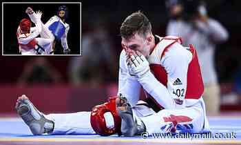 Team GB WINS! Taekwondo star Bradly Sinden secures Britain's first silver medal in Tokyo Olympics