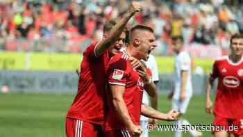 SV Sandhausen gegen Fortuna Düsseldorf: 0:2, 1. Spieltag