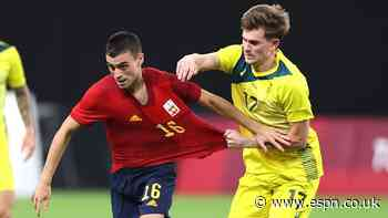 Spain's class too much for Australia but Olyroos' hopes are still alive