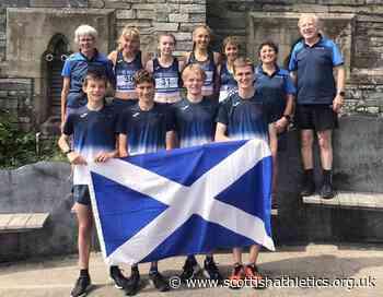 Scotland win team golds on the hills; Campus 5k; Ben PB at 1500m - scottishathletics.org.uk