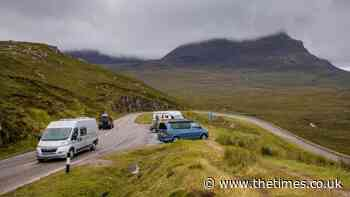 Scotland's Route 66 hums to the sound of dirty campers and irate Highlanders - The Times