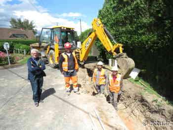 Près de Pont-Audemer, les travaux vont se poursuivre jusqu'à la fin du mois - actu.fr