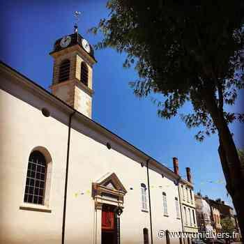 Visite libre de l'Hôtel-Dieu de Belleville Hôtel Dieu de Belleville-en-Beaujolais samedi 18 septembre 2021 - Unidivers