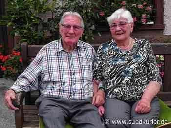 Bonndorf: Die Liebe beginnt beim Tanzen: Christa und Egon Riester gaben sich vor 60 Jahren das Ja-Wort - SÜDKURIER Online