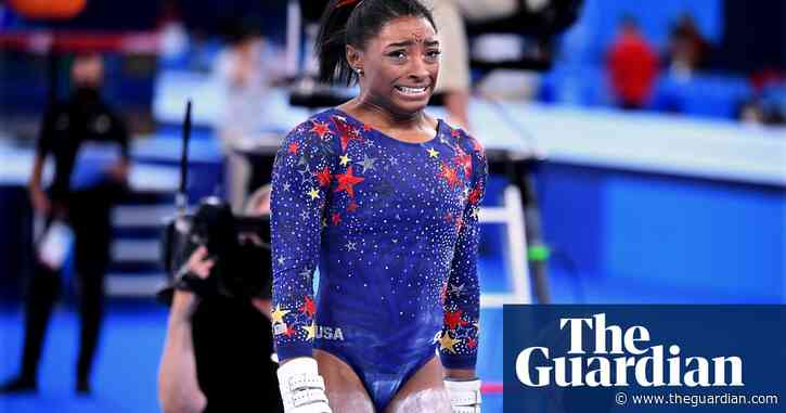 Simone Biles leaps into Olympics action but USA's gap over rivals narrows
