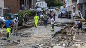 Unwetter inBelgien: Autos weggespült und Häuser evakuiert