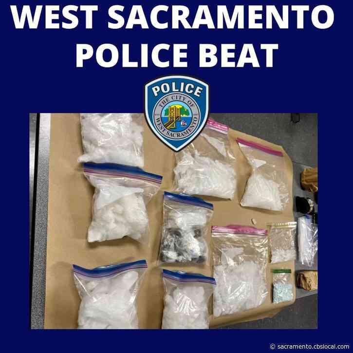 West Sacramento Police Arrest Woman Found With Drugs