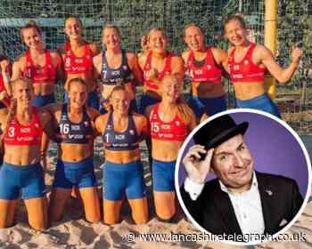 Dave Fishwick offers to pay Norway team's bikini bottom fine
