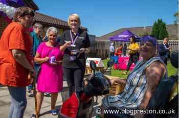 Mayor of Preston celebrates birthday of Moor Nook's Purple Pantry food outlet - Blog Preston