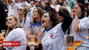 People splash out on food and drink for Euro 2020 - BBC News