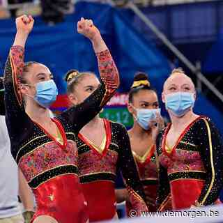 Belgische gymnastes halen historische finale: 'Daarin is alles mogelijk'
