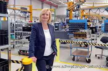 """Alstom in Mannheim: Neue Standortleiterin Karin Sautter sagt """"sehr positive Zukunft"""" voraus - Wirtschaft - Schwetzinger Zeitung"""
