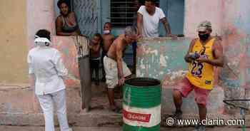 Cuba en alerta por un nuevo récord de casos de coronavirus: registró 8.853 en las últimas 24 horas - Clarín