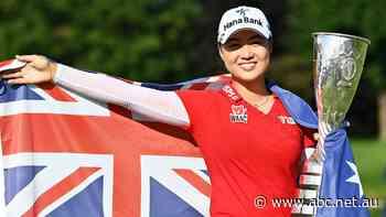 Australian golfer Minjee Lee wins her first major at Evian Championship