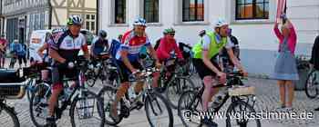 Radtour macht Halt in Haldensleben - Volksstimme
