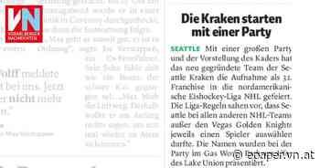 Die Kraken starten mit einer Party - Vorarlberger Nachrichten   VN.AT