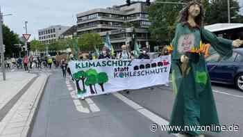 Demonstration in Oldenburg: Fridays For Future fordert Umdenken in der Klimapolitik - Nordwest-Zeitung